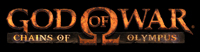 'God of War: Chains of Olympus' game logo