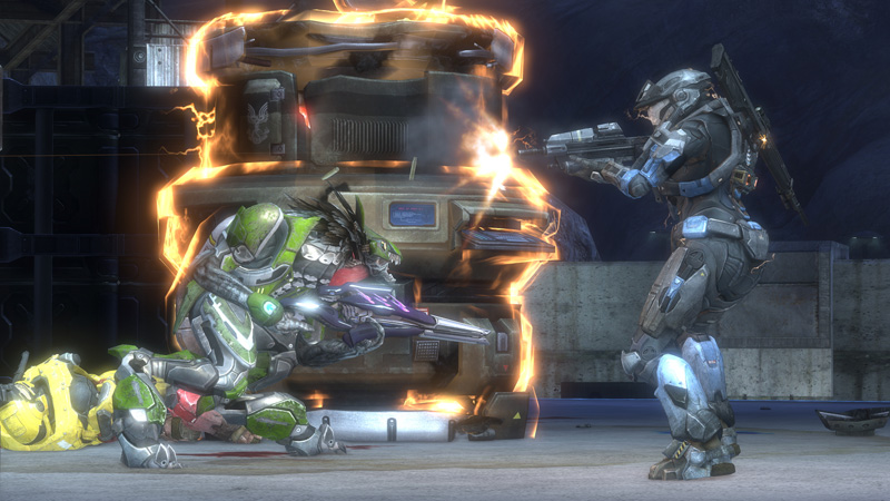 Halo reach xbox 360 pc video games for Halo ce portent 2 firefight