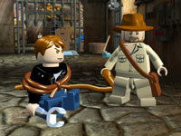 A   screen inspired by Indiana Jones and the Kingdom of the Crystal Skull in LEGO Indiana Jones   2: The Adventure Continues