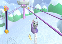 Pet in the snow in 'Littlest Pet Shop'