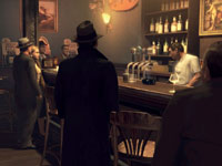 Bar scene from Mafia II
