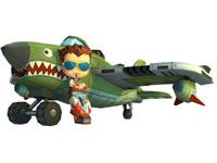 Sim Pilot with customizable plane from MySims SkyHeroes