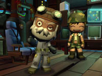 Supporting characters from MySims SkyHeroes