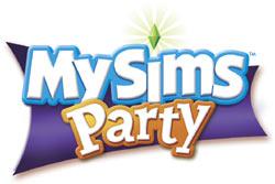 'MySims Party' game logo