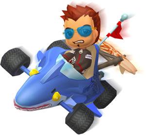 'MySims Racing' character