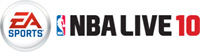 'NBA LIVE 10' game logo