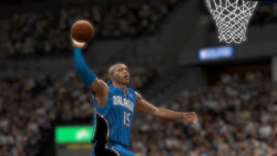 Vince Carter throwing one down for the Magic in NBA 2K10