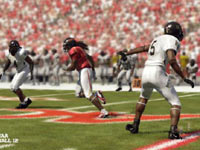 Zone coverage in NCAA Footbal 12