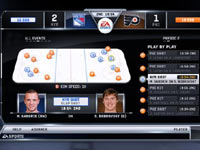 A player management screen from NHL 12''s Be a GM mode