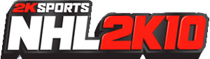 2K Sports 'NHL 2K10' game logo