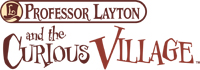 Professor Layton and the Curious Village game logo