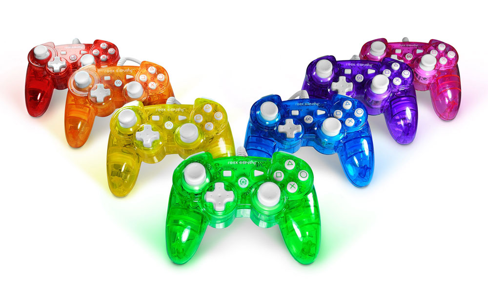 Amazon.com: Rock Candy PS3 Controller - Blue: Playstation 3: Video