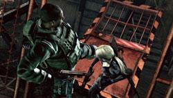 Online versus mode screenshot from Resident Evil 5 Gold Edition
