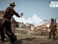 Showdown mini-game from Red Dead Redemption