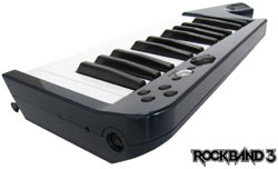 Optional new keyboard controller for Rock Band 3