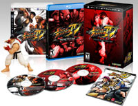 Image of contents of 'Street Fighter IV Collector's Edition' for PlayStation 3