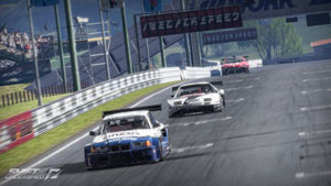 Coming down the straightaway at the front of the pack Shift 2 Unleashed