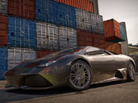 The Lamborghini Murcielago LP640 available with Shift 2 Unleashed LE