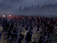 Large-scale combat in the field in Shogun 2: Total War