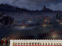 In-game screen capture of a player and all their units on the field in Shogun 2: Total War