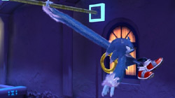 Sonic the Werehog in 'Sonic Unleashed'