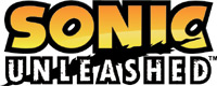 'Sonic Unleashed' game logo