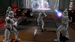 Squad-based clone combat in 'Star Wars The Clone Wars: Republic Heroes'