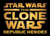 'Star Wars The Clone Wars: Republic Heroes' game logo