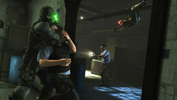 Co-op stealth gameplay from Tom Clancy's Splinter Cell: Conviction