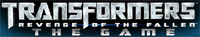 'Transformers: Revenge of the Fallen' game logo