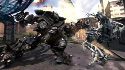 Decepticon using a weapon in 'Transformers: Revenge of the Fallen'