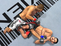 Ground game in UFC Undisputed 2010