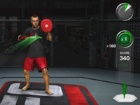 Hit the Mitts mode from UFC Personal Trainer: The Ultimate Fitness System
