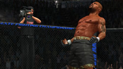 Grabbing glory in front of the cameras in 'UFC 2009 Undisputed'