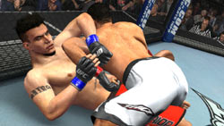 Offense and defense on the ground in 'UFC 2009 Undisputed'