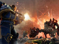 The innovative combat system in Warhamer 40,000: Space Marine