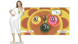The ''Perfect 10'' balance game from ''Wii Fit Plus''