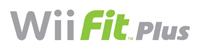 'Wii Fit Plus' game logo