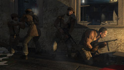 Multiplayer play options in 'Wolfenstein'