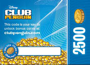 Club Penguin: Elite Penguin Force Coin Card