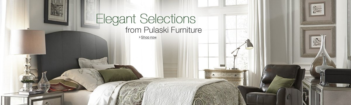 Elegant Selections from Pulaski Furniture