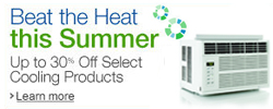 Up to 30% off select cooling products