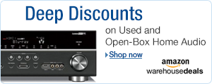 Deep Discounts on Home Audio at Amazon Warehouse Deals