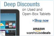 Deep Discounts on Tablets at Amazon Warehouse Deals
