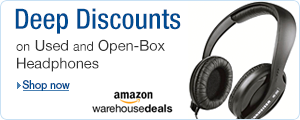 Deep Discounts on Headphones at Amazon Warehouse Deals