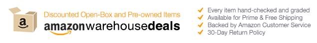 Amazon Warehouse Deals Discounted Used and Open-Box Products