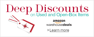Deep Discounts at Amazon Warehouse Deals