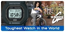 G-Shock - Toughest Watch in the World