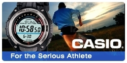 Casio - For the Serious Athlete