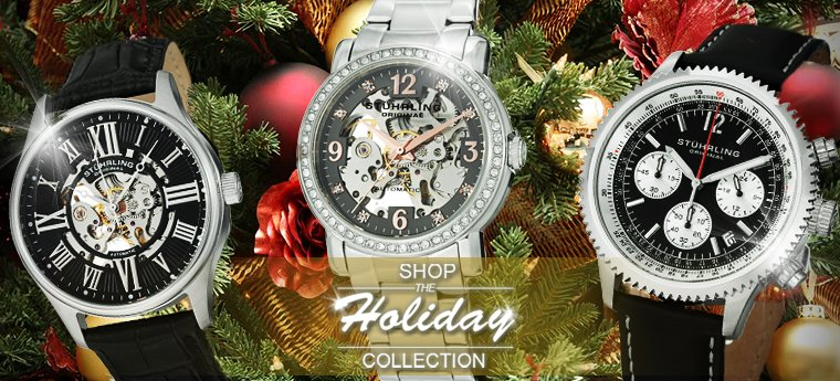 Stuhrling Holiday 2014 Collection